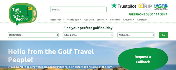 The Golf Travel People – a case study
