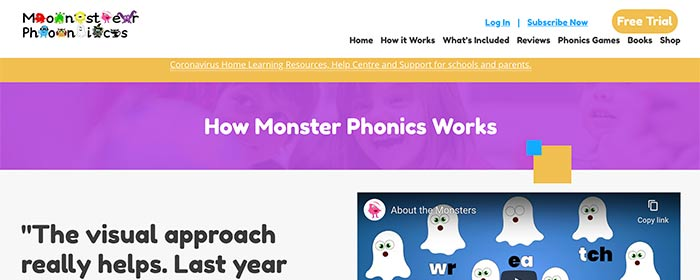 Monster Phonics